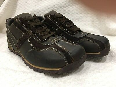 e8a103dc723 Steve Madden Mens Shoes Rumbil Size 8.5 Leather Lace Up Brown New