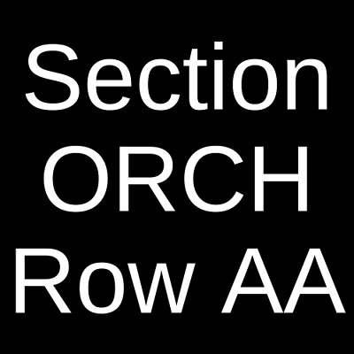 2 Tickets John Mellencamp 4/20/19 Spokane, WA