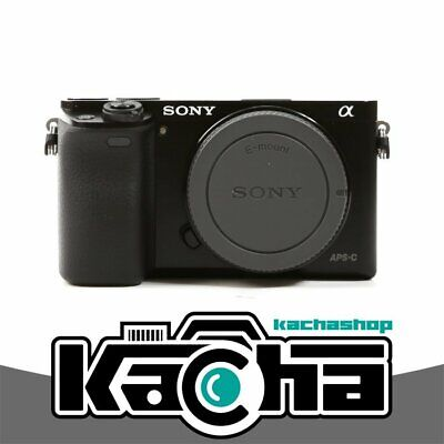 NEUF Sony Alpha A6000 Mirrorless Digital Camera Black Body Only
