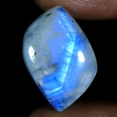 16.20Cts100%Natural Rainbow Moonstone Fancy Cabochon Loose Gemstone