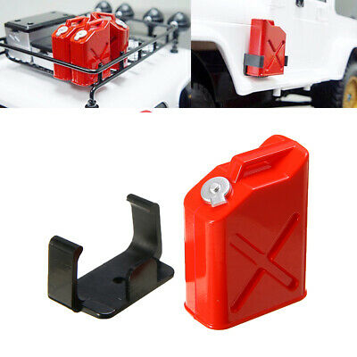 2Pcs RC Car Gas Cans Tank For 1:10 RC Rock Crawler Scale SCX10 Accessory Red