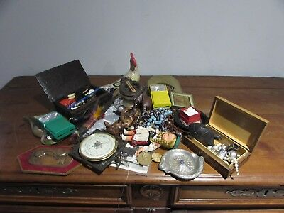 joli lot d objets de vitrine brocante collection decoration