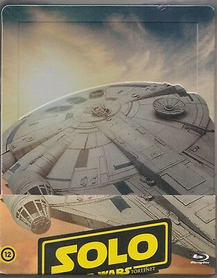 Solo: A Star Wars Story (2018) BLU-RAY STEELBOOK NEW