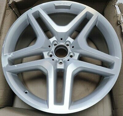 "Genuine Amg Mercedes Ml M Gle Gl Class W166 21"" 10J Alloy Wheel A1664012502 7X25"