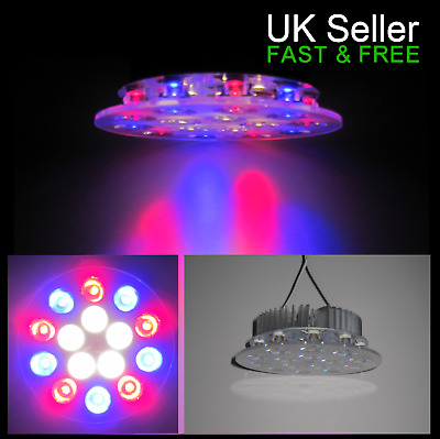 40W Customised Bespoke LED Lamp (15 x 3W chips) Grow Light Hydroponics Aquarium