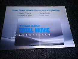 Total movie experience voucher