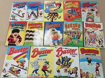 ~ 16G ~ Collection ~ Vintage ~ Annuals ~ Buster ~ Dennis Menace ~ Beezer ~ etc ~