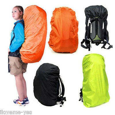 New Waterproof Backpack Rainproof Cover Bag Camping Cycling Hiking Travel Resist