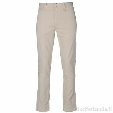 DKNY Relaxed Pant Mens Hook Bar Chino Trousers Sand UK size 36W