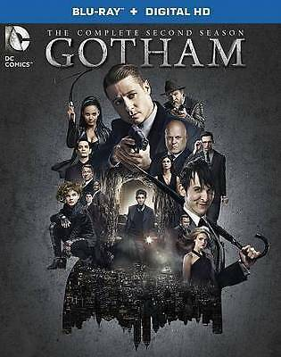 Gotham: The Complete Second Season (Blu-ray Disc, Slipcover, 2016, 4-Disc Set)