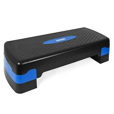 Multi Level Exercise Stepper Aerobic Step Step Board with Adjustable Height