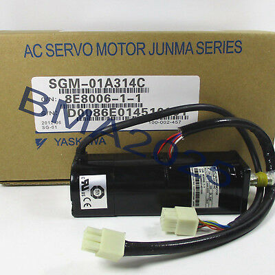 1PC Yaskawa servo motor SGM-01A314C New IN BOX FAST delievery
