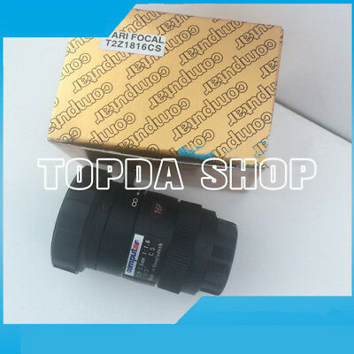 "1PC Computar T2Z1816CS 1.8-3.6mm F1.6 CS 1/3"" Zoom Industrial Camera Lens#SS"