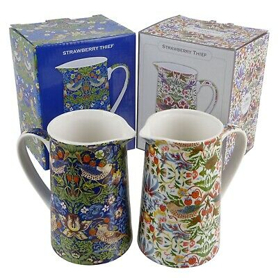 William Morris Strawberry Thief Jug by The Leonardo Collection Gift Boxed