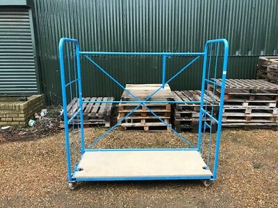 Stilages, Warehouse Stillages, Nestable, Mobile via wheels