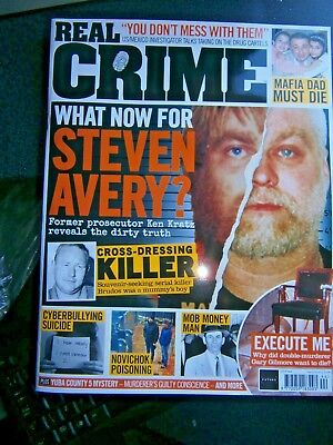 Real Crime Magazine Issue 44 (new) 2018 Final Issue