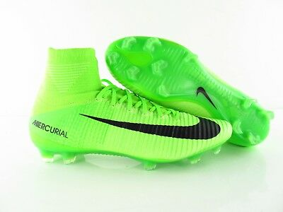 official photos a3023 a9b69 Nike Mercurial Superfly V FG ACC Electric Green Fussball UK 6.5 US 7.5 Eur