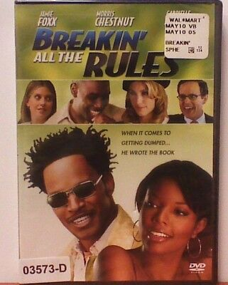 NEW *Sealed* DVD Movie BREAKIN' THE RULES Jamie Foxx