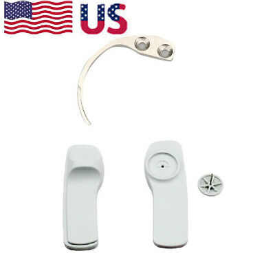 1x Metal EAS System Security Tag Remover Hard Clothing Label Hook Key Detacher