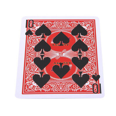 Magical Cards Magic Tricks Close up Magic Magician Stage Show Prop Set CB