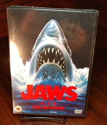 Jaws 2/Jaws 3/Jaws:The Revenge (DVD,UK IMPORT)REGION 2-NEW-Free S&H with Trackin