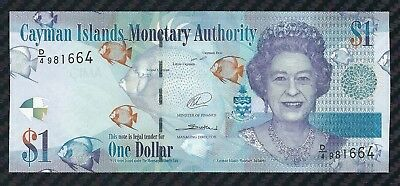 BANCONOTA 1 one Dollar Cayman Island Monetary Authority   FDS  UNC