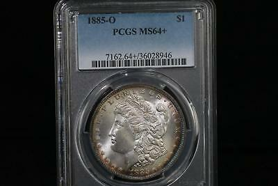 1885 O Morgan PCGS Uncirculated MS-64+ Silver Dollar Coin New Orleans Mint