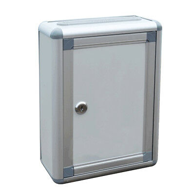 1 pcs Suggestion Box Alloy Small Wall Hanging Mailbox Complaint Box for Company