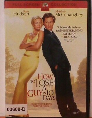 DVD Movie HOW TO LOSE A GUY IN 10 DAYS in Original Jacket