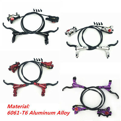 Mountain Bike Hydraulic Disc Brakes levers Calipers Front Rear Brake lever Parts