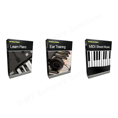 MIDI SHEET MUSIC Keyboard Piano Learning Learn Software with Songs