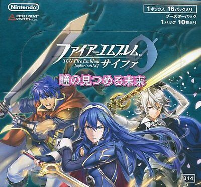 Fire Emblem 0 Cipher Card Game Booster Part 3 Sealed Box Japanese B03