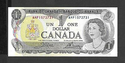 Canada    1973  One Dollar Note  -  Gem Uncirculated Condition