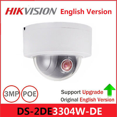 1PC Hikvision DS-2DE3304W-DE English/Overseas/International PTZ Ball Machine#SS
