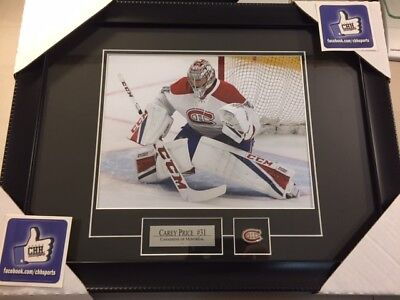 MONTREAL CANADIENS Carey Price unsigned 8x10 Hockey Frame Cadre photo 2018 NHL