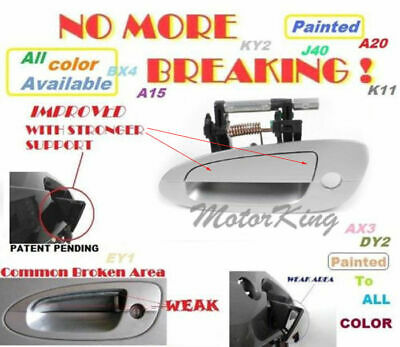 For 02 03-06 NISSAN ALTIMA Outside Door Handle Front Left Driver BW9 BLUE B3759