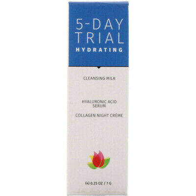 Reviva Labs 5-Day Trial Hydrating 4 Piece Kit 0.25 oz (7 g) Each