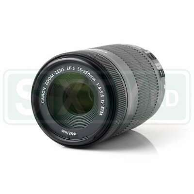 DE Canon EF-S 55-250mm f/4-5.6 IS STM Telephoto Zoom Lens (White Box)
