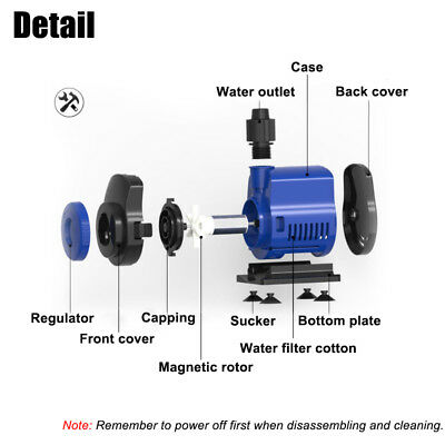 Submersible Aquarium Water Pump Fish Tank Pond Small Water Feature 500-3500L/H