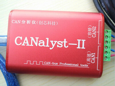 CANALYST-II CANOPEN J1939 DeviceNet USBCAN-2 USB to CAN