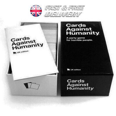 Cards Against Humanity UK V2.0 Edition Sealed 600 Cards Family Party Card Game