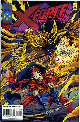 X-Force - Vol. 1 - # 43 Deluxe - Reignfire revealed - Near Mint condition