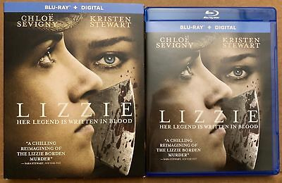 Lizzie Blu Ray + Slipcover Sleeve Free World Wide Shipping Buy It Now Horror