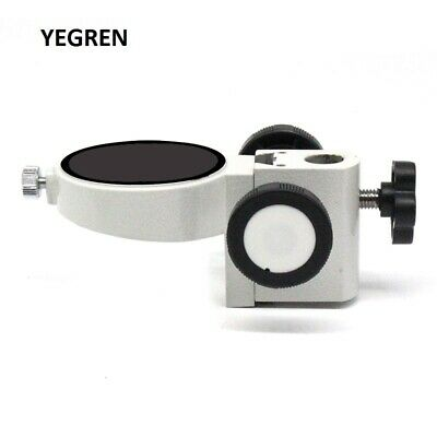 Stereo Microscope Adjustment Focus Arm Head Holder Ring Arbor Stand Bracket 52mm