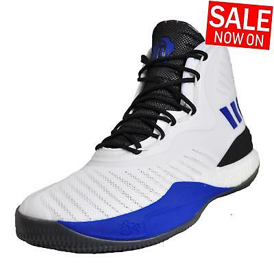 uk availability b2ae8 6a7f2 Adidas D Rose 8 Augmentation Homme Premium Basketball Court Chaussures  Blanches