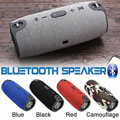 40W Wireless Bluetooth Speaker Waterproof Outdoor Super Bass Stereo USB FM Radio