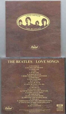 BEATLES Love Songs CD