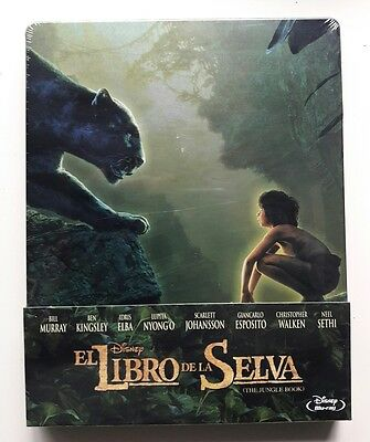 El Libro De La Selva (The Jungle Book) Blu-Ray Steelbook Edición Metálica Disney