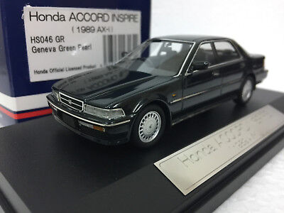 1:43 HI STORY HS046GR HONDA ACCORD INSPIRE 1989 1990 (CB5) AX-i VIGOR model car
