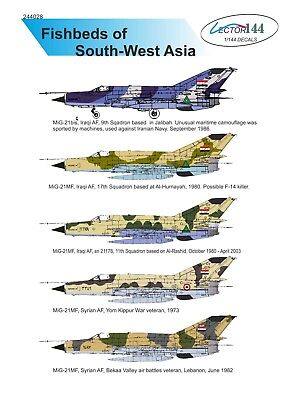 1/144 MiG-21MF Arabic Peninsula decal set